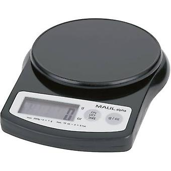 Letter scales Maul MAULalpha 2000G Weight range 2 kg Readability
