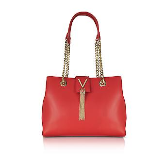 Valentino by Mario Valentino women's VBS2R406GRED red leather handbags