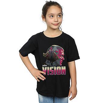 Marvel Girls Avengers Infinity War Vision Character T-Shirt