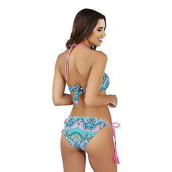 Boutique Ladies Paisley Print Bikini Set