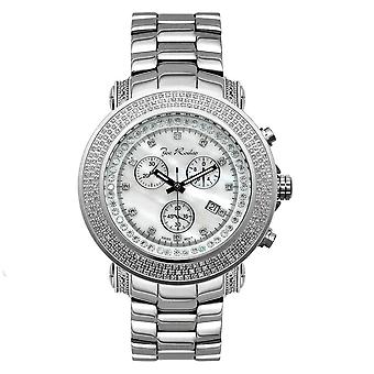 Joe Rodeo diamond men's watch - JUNIOR silver 2.5 ctw