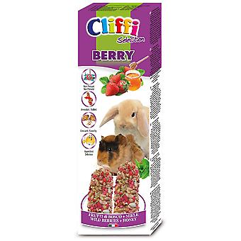 Cliffi Berry Snack para Conejos Enanos y Cobayas (Small pets , Treats)