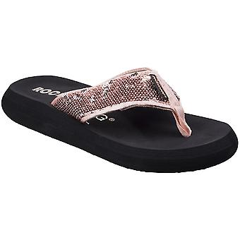 Rocket Dog Womens/Ladies Spotlight Slip On Casual Summer Flip Flops