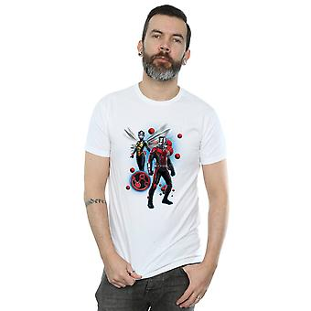 Marvel Men's Ant-Man and The Wasp Particle Pose T-Shirt