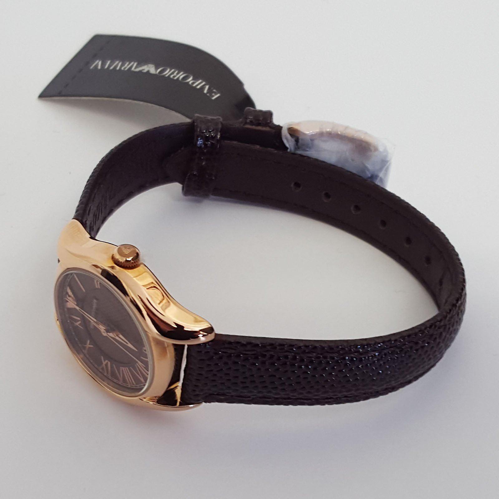 エンポリオ ・ アルマーニ レディース時計 AR1714 希望小売価格 £229 茶色ローズゴールド英国保証販売時計します。