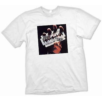 Womens T-shirt - Judas-Priest - British Steel - Heavy Metal