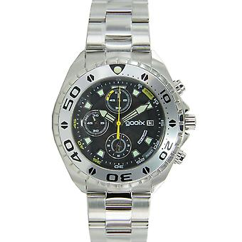 gooix men's watch Chrono Watch stainless steel analog GX01102500