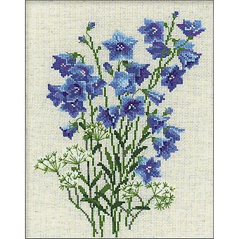 Blue Bells Counted Cross Stitch Kit-9.5