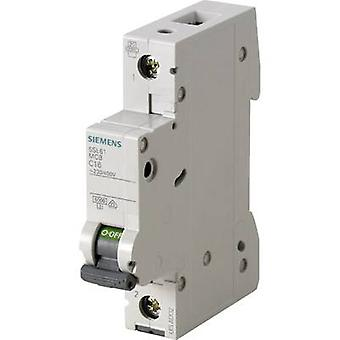 Siemens 5SL6116-7 Circuit breaker 1-pin