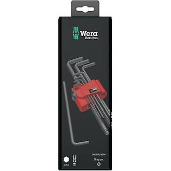 Allen Allen key set 9-piece Wera 950 PKL/9 BM SB SiS