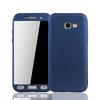 Samsung Galaxy A5 2017 phone case protective case cover tank protection glass blue