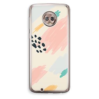 Motorola Moto G6 Transparent Case (Soft) - Sunday Chillings