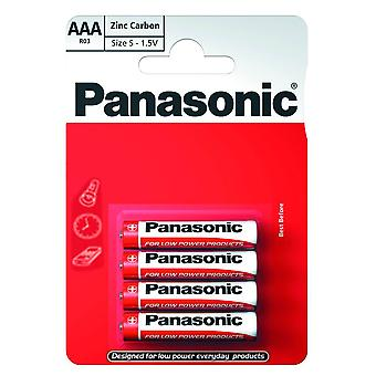 Panasonic R03R-4BP AAA Size Battery
