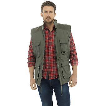 bb02687bbe Tom Franks Mens Country Clothing Padded BodyWarmer