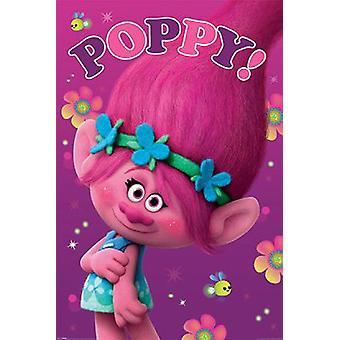 Trolls Poster Poppy!