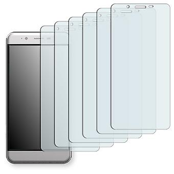 Archos 50 cobalt screen protector - Golebo Semimatt protector (deliberately smaller than the display, as this is arched)