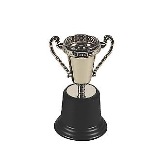 Single Silver Trophy for Party Bags - Award Trophy | Kids Party Games