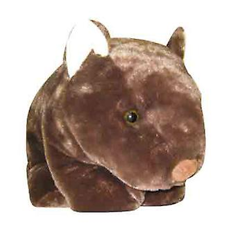 41cm Dark Brown Wombat Plush