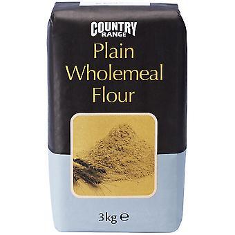 Land Auswahl Plain Brown Vollkornmehl