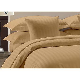 1000 Tc-100% Cotton Stripe Bed Sheet Set-beige