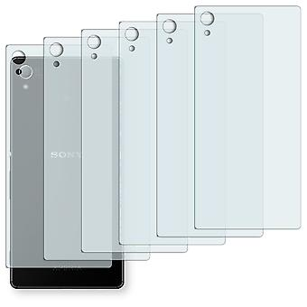 Sony Xperia Z3 + back screen protector - Golebo crystal clear protection film