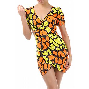 Waooh - Fashion - Summer Dress Colorful & Pattern Giraffe - Lycra
