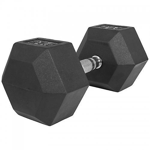 1 x  27,5kg Halt�re Hexagonal en Caoutchouc