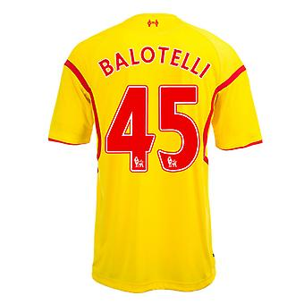 2014-15 Liverpool Away Shirt (Balotelli 45) - Kids