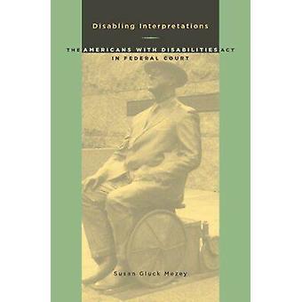 Désactivation de l'Americans with Disabilities Act en Fed interprétations-
