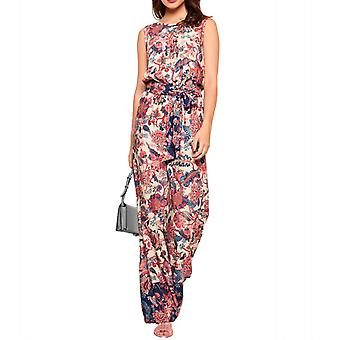 Rick cardona casual ladies summer jumpsuit with wide leg short size colorful