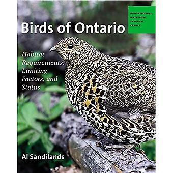 Birds of Ontario: Habitat Requirements, Limiting Factors, and Status (Paperback)