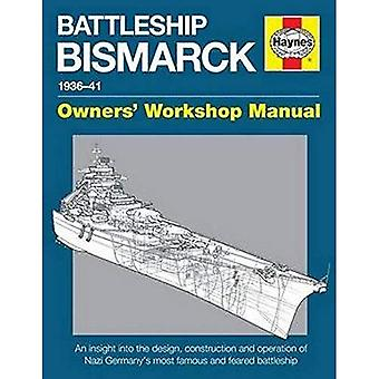 Slagskeppet Bismarck Manual: Nazistiska Tysklands mest berömda och fruktade slagskepp (ägare verkstadshandbok)
