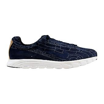 51a6d36c7ed Nike Mayfly Leather Premium Obsidian Obsidian-Summit White 816548-400 Men s