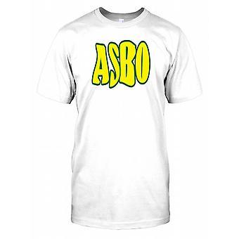 ASBO - Anti-Social Behaviour Order - Funny Mens T Shirt