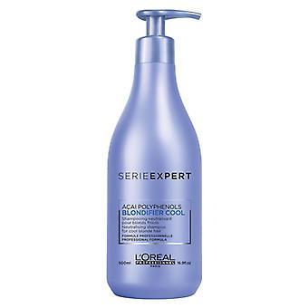 Cool Blondifier de Loreal Serie Expert Shampoo 500 ml