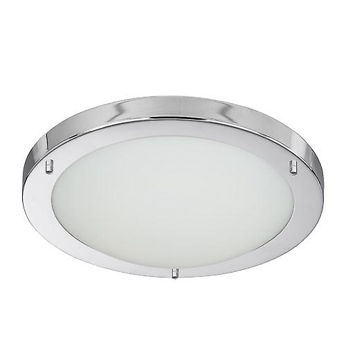Searchlight 10632CC Modern Bathroom Flush Ceiling Light 16W 2D Low Energy