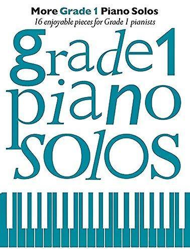 More Grade 1 Piano Solos - 9781785583629 Book