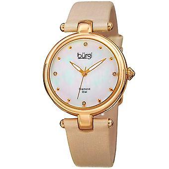 Burgi Women's Watch BUR169GLD