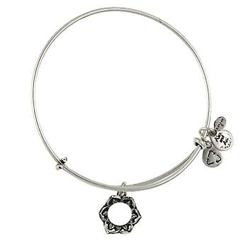Alex en Ani Queen's Crown Silver Bangle A09EB134RS