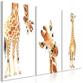 Tableau - Funny Giraffes (3 Parts)