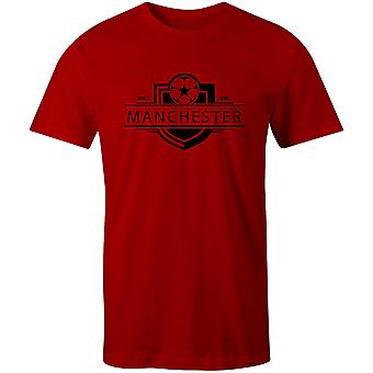 Manchester United 1878 Established Badge Football T-Shirt
