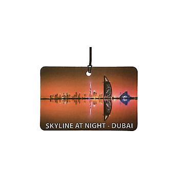 Горизонт в ночное время-освежитель воздуха автомобилей Дубай