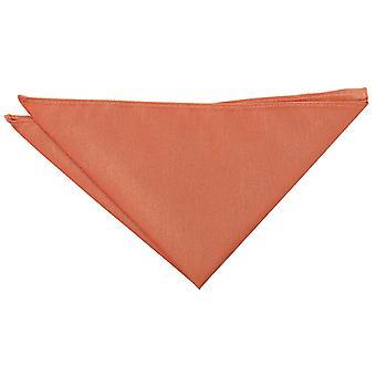 Copper Shantung Pocket Square