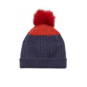 Joules Junior Bobble Hat-Franse Navy