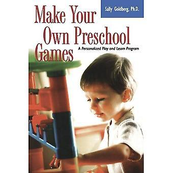 Maak je eigen Preschool games: een gepersonaliseerd spel en leerprogramma