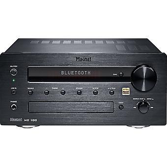 Magnat MC 100, stereo DAB + FM-CD-modtager, 140 watt max. sort B-ware
