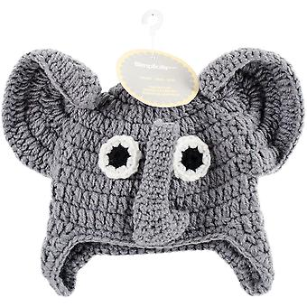 Crocheted Hats For Babies-Elephant 1271230