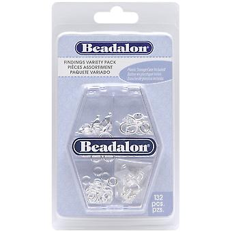 Findings Variety Pack 134 Pkg Silver Plated 356 110 B
