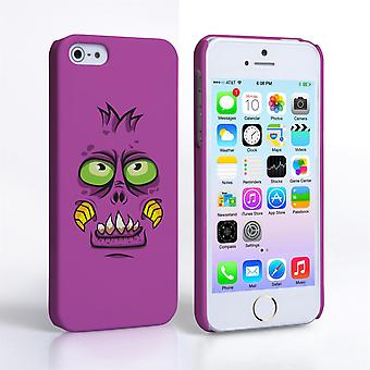 Caseflex iPhone SE Monster Hard Case paars