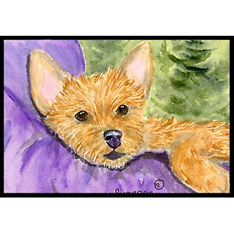 Norwich Terrier Indoor Outdoor Mat 18x27 Doormat